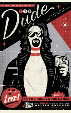 The Big Lebowski...Coen Brothers Movies Reimagined As Gig Posters | Co.Design | business + design