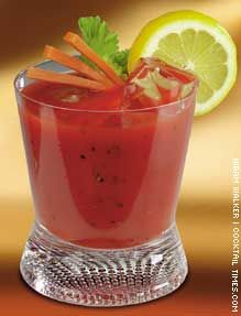 Canadian Caesar Cocktail #alittlethoughtforfood