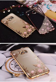 109 Best s7 edge gold tempered glass images  47b2976e3aa57