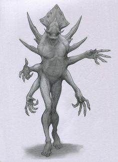 Quad Demon by Mavros-Thanatos.deviantart.com on @deviantART