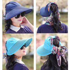 Women Summer Outdoor Sun Protective Gardening Hat Anti-UV Wide Brim Visor Sun  Cap is hot sale on Newchic Mobile. cynthia jiang · shopping online e5254aee6978