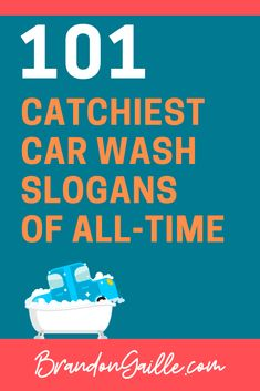 101 Catchy Car Wash Slogans and Taglines Business Slogans, Marketing Slogans, Business Quotes, Business Ideas, Car Soap, Car Wash Soap, Car Wash Business, Cleaning Business, Detail Car Wash