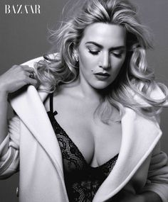 She's just gorgeous. Kate Winslet