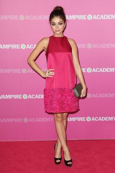 Sarah Hyland in Temperley London at the Sydney Vampire Academy premiere.