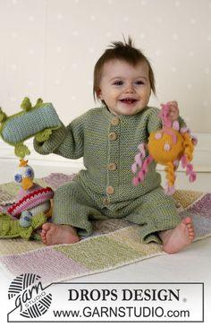 Комбинезон для малыша платочной вязкой. Обсуждение на LiveInternet - Российский Сервис Онлайн-Дневников