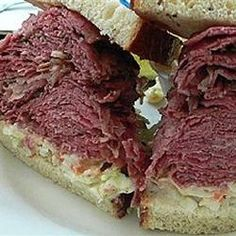 Slow Cooked Corned Beef for Sandwiches Allrecipes.com