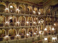 Teatro Scientifico Bibiena, Mantova, Italia.