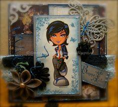 Handmade Cards (Scrapbooking) - Kenny K Image - Club Kid