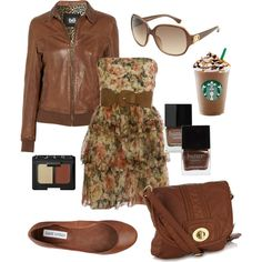 Notice the Starbucks.  Now I know what my Sunday outfit should look like when I am sitting' and sippin my latte.  LOL