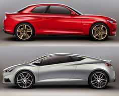 "Chevy's ""crowdsourced"" concepts, the Code (top) and Tru (bottom)"