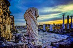 Antique Ruins of Salamis, Turkish-occupied area, Cyprus