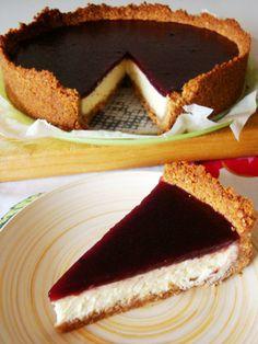 le ricette in cucina di patatina: cheesecake con marmellata di lamponi e mirtilli (con cottura)