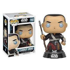 This is the Funko Star Wars Rogue One POP Chirrut Imwe Bobble Vinyl Figure. It's great to see the Star Wars Rogue One POP's finally in stock. Chirrut Imwe look