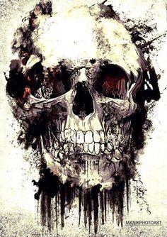 Skull  @Angie Wimberly Wimberly Jojola