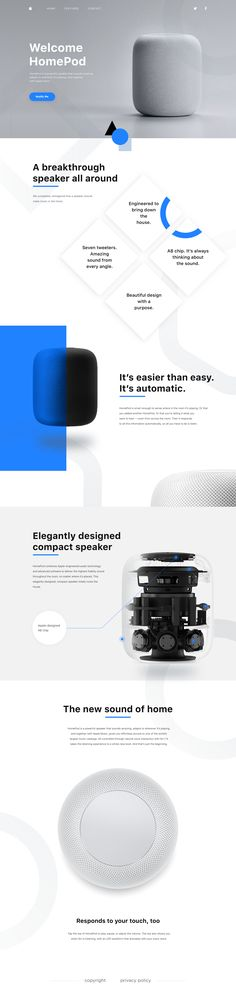 HomePod webdesign