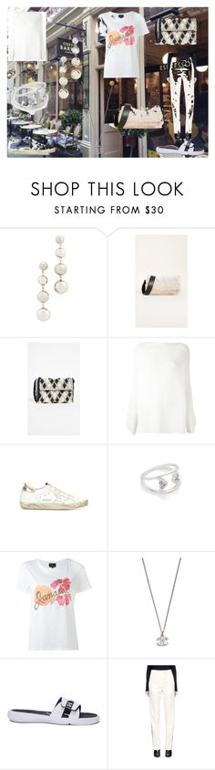 """""""ESPRESSO"""" by ramakumari ❤ liked on Polyvore featuring Barker, Rebecca Minkoff, Furla, Antonello, Calvin Klein Collection, Golden Goose, Pamela Love, A.P.C., Under Armour and Calvin Klein 205W39NYC"""