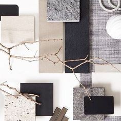 Moodboards to inspire your interior design Mood Board Interior, Interior Design Boards, Interior Paint Colors, Deco Cool, Material Board, Concept Board, Colour Board, Colour Schemes, Wabi Sabi