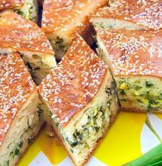 Χορτόπιτα Κέικ…είναι υπέροχη για όλες τις ώρες Spanakopita, Sandwiches, Ethnic Recipes, Food, Essen, Meals, Paninis, Yemek, Eten
