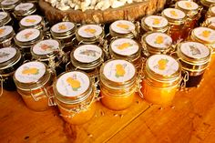 Frasquitos mermelada Candle Jars, Candles, Punch Bowls, Marmalade, Trends, Candle Mason Jars, Candy, Candle Sticks, Candle