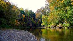 Sugar Creek, Shades State Park, Indiana.