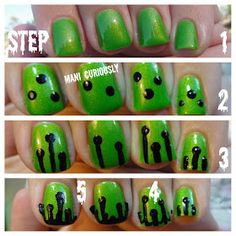 Mani Curiously...: Drip Mani Tutorial with Cult Nails!