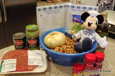 Uncle Walt's Chili! A step-by-step #Disney #Recipe
