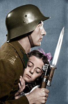 soldier with girl by Greenh0rn.deviantart.com on @DeviantArt