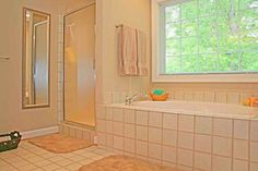 How to Clean Mold and Mildew from Bathroom Tile - including a no scrub cleaning mixture A great way to make a no scrub grout cleaner is to mix: 1 cup plain white vinegar 1 cup salt 1 cup hot water 2 Tbs. dish washing liquid