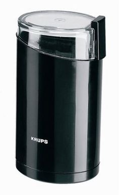 Amazon.com: KRUPS 1500813248 Electric Spice and Coffee Grinder with Stainless Steel Blades, Black: Kitchen & Dining
