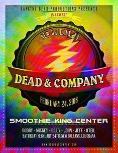 Dead & Company Setlist | Saturday February 24 2018 | Smoothie King Center, New Orleans Louisiana | Deadheadland | (~);}