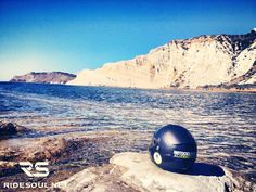 """Scala dei Turchi"" one of the best beach of Sicily! #motorcycle #tour #italy"