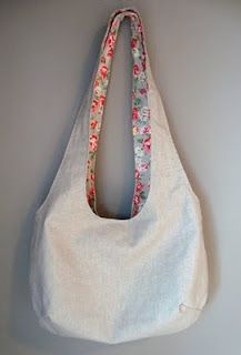 Reversible Bag tutorial. I just finished this bag and it was just challenging enough to be fun for a newb. I bet it'd look great with some embroidery.