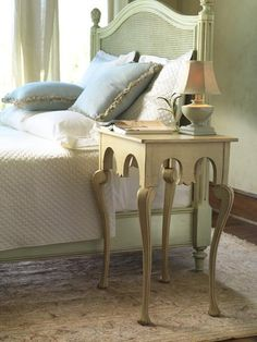 Cottage Mendocino Nightstand Painted Bedroom Furniture Coastal Custom Made Accent