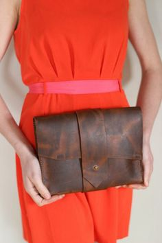 Nox Clutch MMXIV by Maine Leather Co.