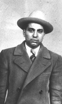 Happy Maione - Murder inc. killer. Maione and his partern Dasher Abbandando were executed minutes apart in Sing Sing Prison.
