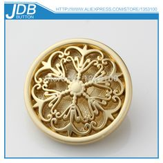 fashion design hollow carved flower metal women's coat button-in Buttons from Apparel & Accessories on Aliexpress.com | Alibaba Group