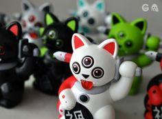 Misfortune Cats! Fun designer toys!