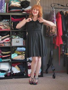 The Long & Winding Bobbin: The Liquorice Dress