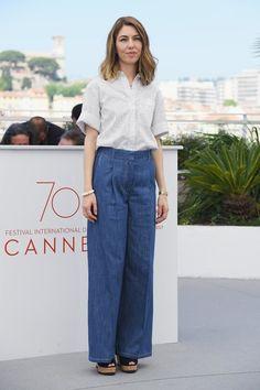 Sofia Coppola au photocall du film Les Proies au Festival de Cannes 2017