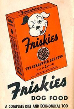 Cartel Friskies años 40 – Anuncios vintage Nestlé