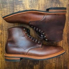 allen edmonds higgins mill boot chromexcel and dainite