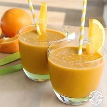 Orange Stress Buster from the smoothies category