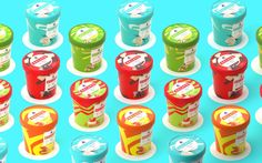 'Gelato' Ice Cream on Packaging of the World - Creative Package Design Gallery
