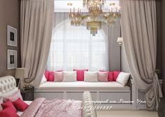 Спальня - классический стиль - дизайн проект - дизайнер Регина Урм