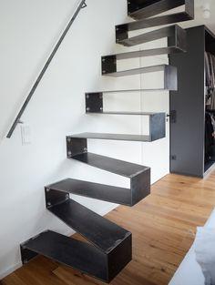 diese treppen sind der wahnsinn stylische treppen pinterest treppe stylisch und. Black Bedroom Furniture Sets. Home Design Ideas