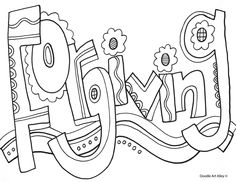 Characteristics of Successful Students - Coloring Page