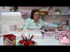 DIY   Como fazer Porta Treco em Tecido - Se vira nos 30 Artesanatos By Thalita Micheli - YouTube