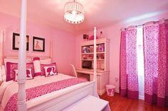Tricks for Pretty Girl's Bedroom Decoration