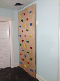Building a Dream House: An Indoor Climbing Wall