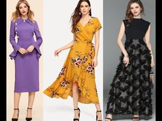 Latest Designer dresses / Party Wear - YouTube Anarkali, Lehenga, Party Wear, Party Dress, Latest Kurti, Ethnic Dress, Designer Gowns, Trendy Tops, Blouse Designs